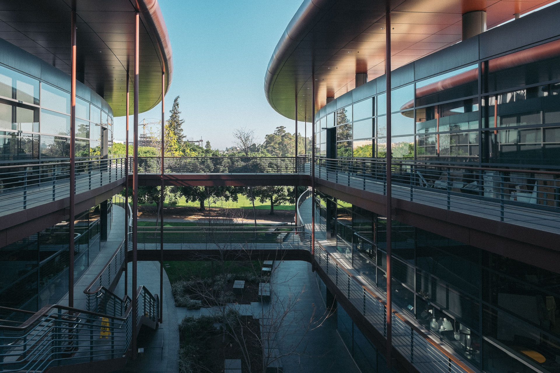 James H. Clark Center Biological Scienes, Stanford